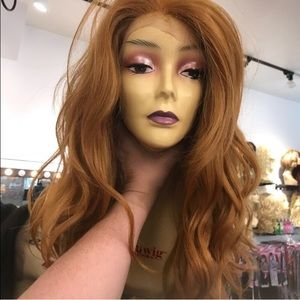 Accessories - Fulllace Irish red wig Swisslace humsn blende